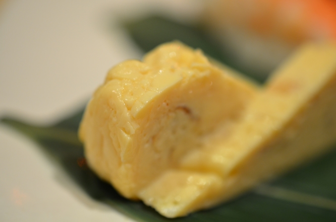 Tamago Sushi - it was pretty good, but not special