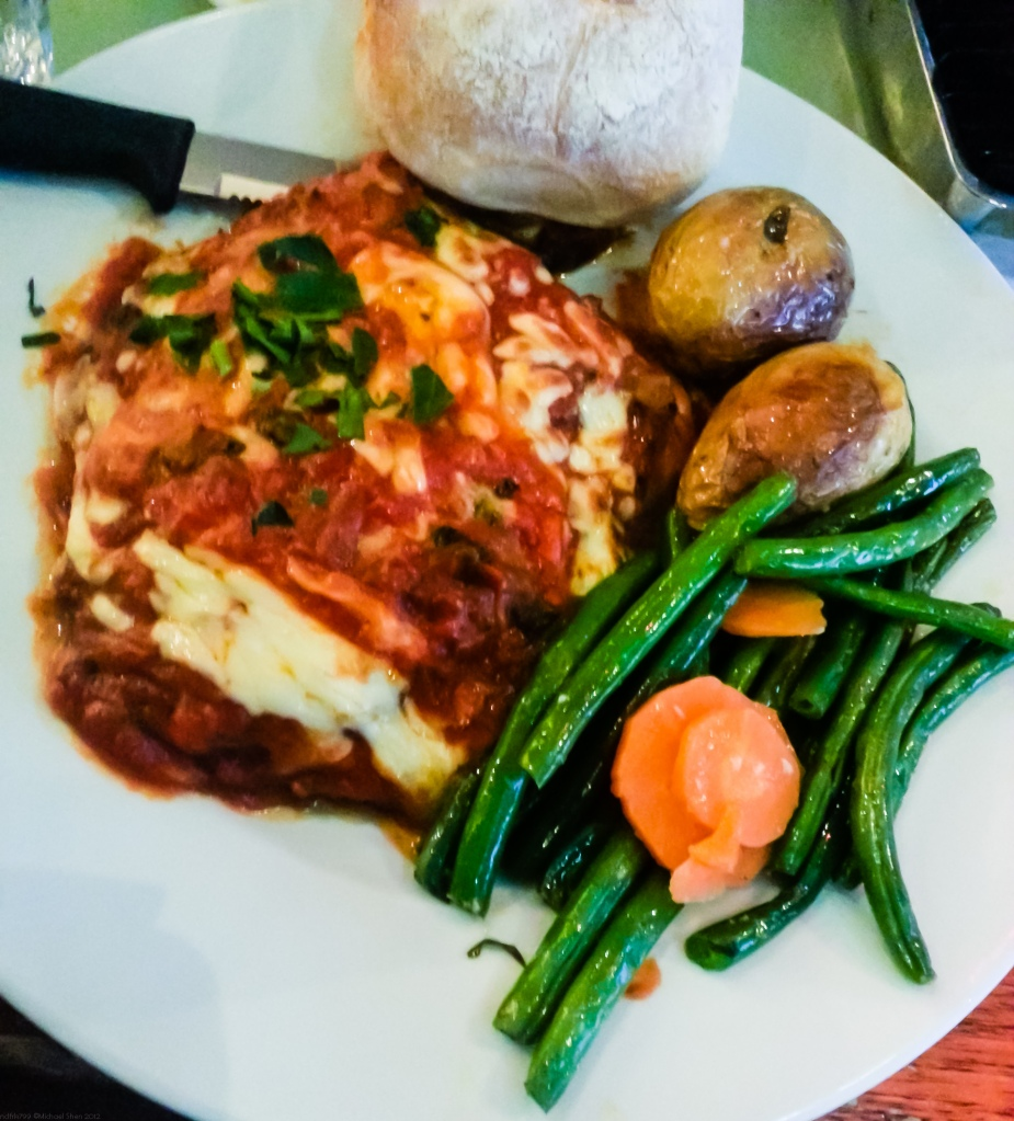 Rossini Cafe Chicken Parmigiana
