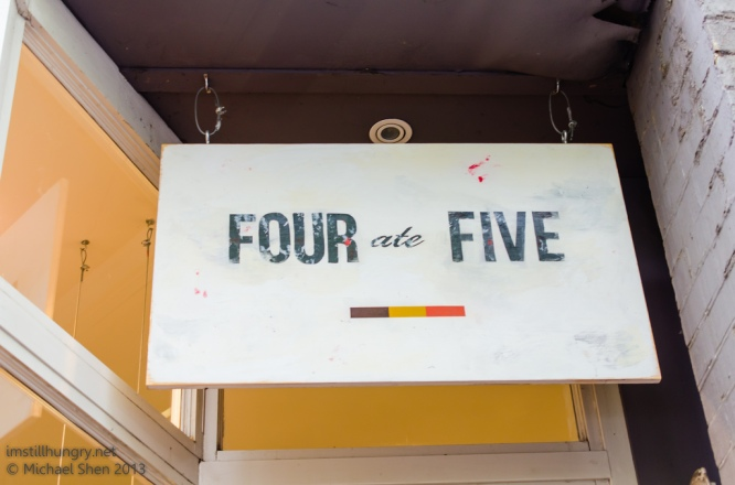 Four Ate Five
