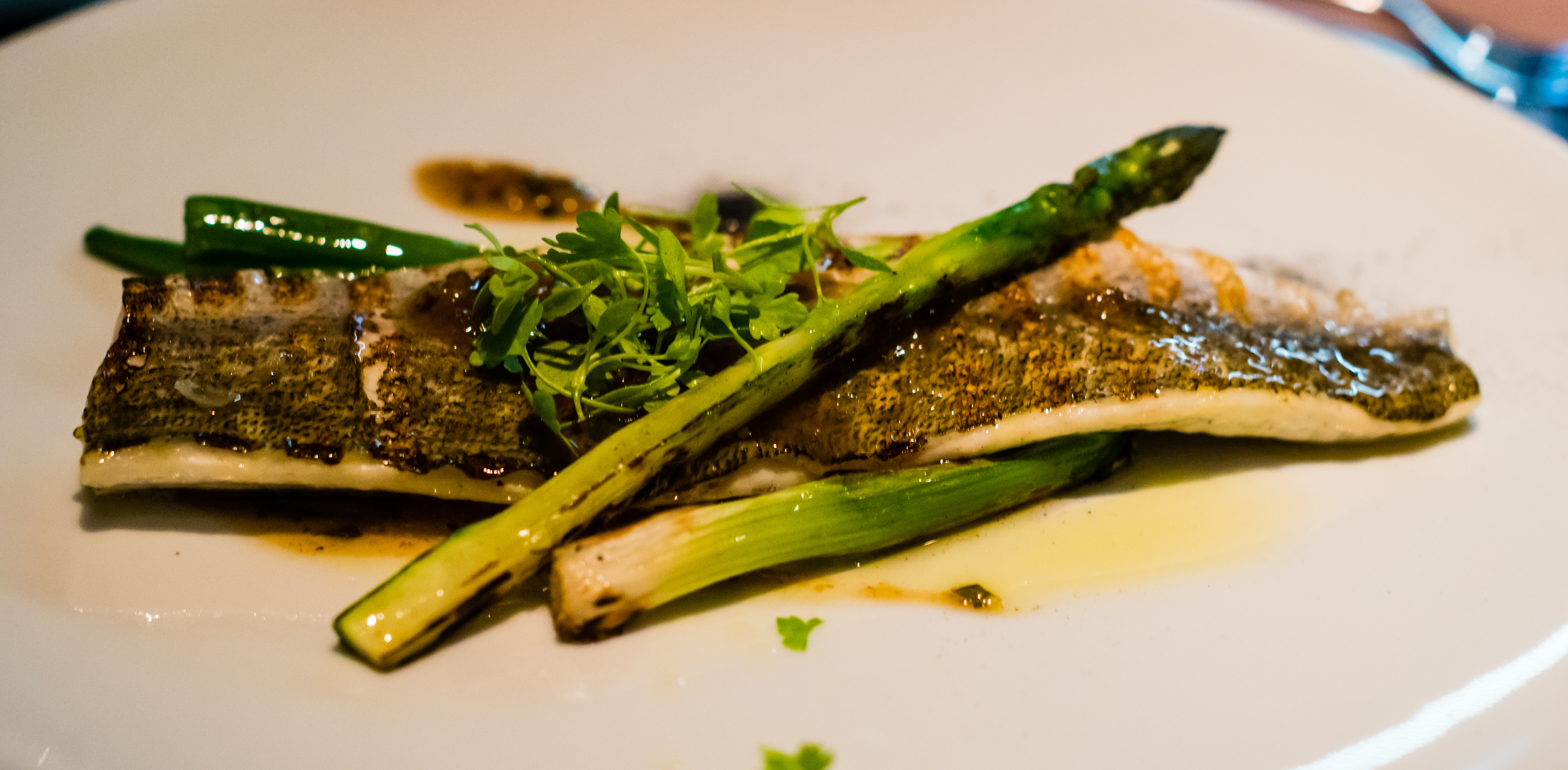 The Bridge Room robata grilled mackerel