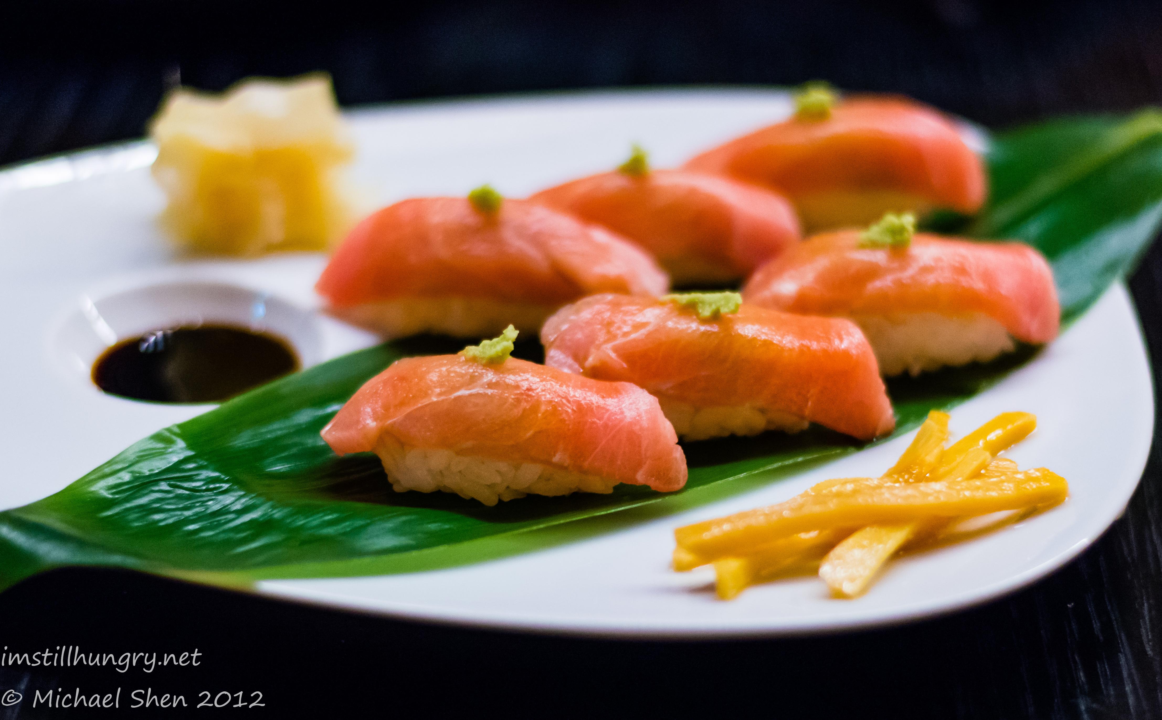 Sokyo tuna sushi